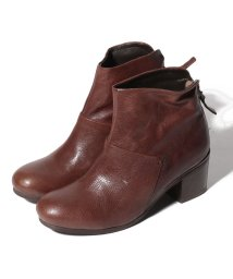 INTER-CHAUSSURES IMPORT/【ABOVE AND BEYOND】ゴートレザーバックジップブーツ/502927642