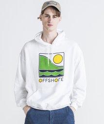 OFF SHORE/COLOR LOGO HOODIE/502927922