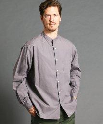 vital/ルーズシルエットバンドカラーシャツ/502932455