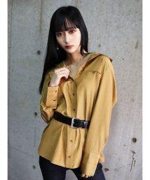 EMODA/セミグロスシャツ/502938265
