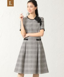 TO BE CHIC(L SIZE)/【L】グレンジャガードワンピース/502941686