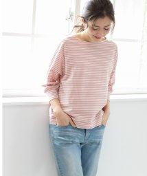 PREFERIR/細ボーダーボートネックTシャツ/502947329