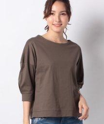 PREFERIR/ボートネックTシャツ/502947330