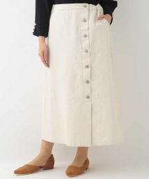 eur3/【大きいサイズ】ボタンデザインデニムスカート/502948980