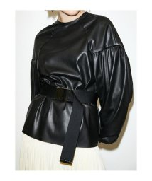 THROW by SLY/VEGANS LEATHER GATHER チュニック/502952395