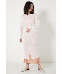 SHEL'TTER SELECT/ブラウジングメッシュニットワンピース(Browsing Mesh Knit Dress)/502952420