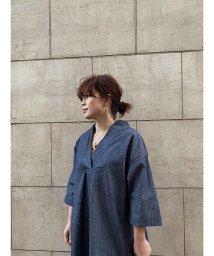 ETRE'TOKYO/ダンガリーロングシャツ/502952767