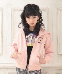 JENNI love/ミニ裏毛チェリーZIPパーカー/502954084