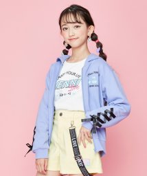 JENNI love/袖レースアップZIPパーカー/502954085
