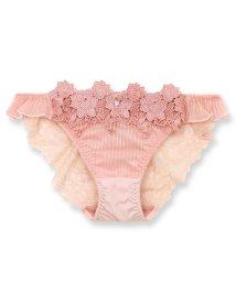 fran de lingerie/Elegance Rose エレガンスローズ コーディネートバックレースショーツ/502955960