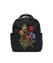 glanta/glanta リュック グレンタ クラシカルブーケ刺しゅう スクエアリュック ナチュラル デイパック 花柄 A4 04070101/502956168