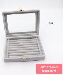 miniministore/アクセサリーケース 携帯用 ジュエリーボックス 大容量 アクセサリー 収納 おしゃれ ピアス 収納ケース 持ち運び/502956379