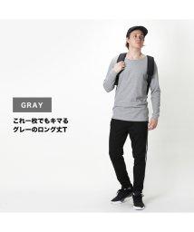 MAC HOUSE(men)/Simplify ワッフルロング丈Tシャツ 01-7271P-HM/502956405