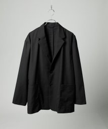 tk.TAKEO KIKUCHI/【WEB限定】ビッグシルエット オーバーサイズジャケット(セットアップ対応)/502957952