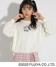 PINK-latte/【ペコちゃん】★ニコラ掲載★裾しぼりトップス/502958303