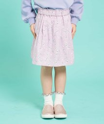 a.v.v(KID'S)/[100-130]【洗える】インナーパンツ付きギャザースカート[WEB限定サイズ]/502792850
