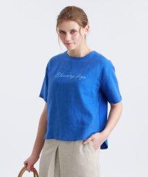 MACKINTOSH PHILOSOPHY/レタード刺繍Tシャツ/502864234