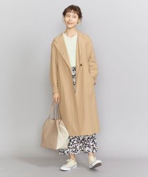 BEAUTY&YOUTH UNITED ARROWS/BY ツイルノーカラーベルトコート/502933215