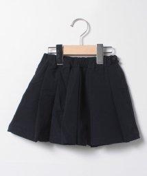 petit main/リボンボタンつきプリーツスカート/502943614