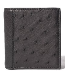 gino marina luxe/オーストリッチ折り財布/502945288