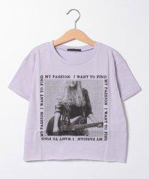 SISLEY YOUNG/ガールズロックプリントTシャツ・カットソー/502946317