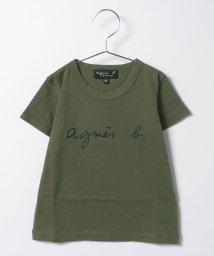 agnes b. ENFANT/S137 E TS キッズ ロゴTシャツ/502949732