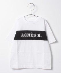 agnes b. ENFANT/SCP9 E TS キッズ ロゴTシャツ/502949734