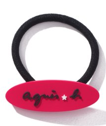 agnes b. ENFANT/KG88 E ELASTIQUE ロゴヘアゴム/502949740
