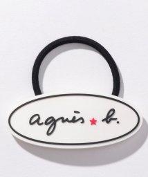 agnes b. ENFANT/KG88 E ELASTIQUE ロゴヘアゴム/502949741