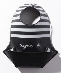 agnes b. ENFANT/KG67 L BAVOIR ベビー ボーダースタイ/502949749