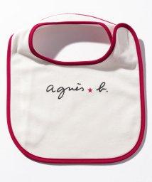 agnes b. ENFANT/KG83 L BAVOIR ベビー ロゴスタイ/502949750