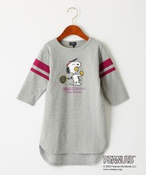 green label relaxing (Kids)/【キッズ】PEANUTS プリントワンピース/502952770