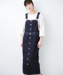 haco!/Urvin フロントボタンジャンパースカート/502955906