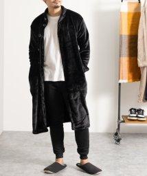 Nylaus/SKKONE マイクロベロア ショールカラー 着る毛布/502959653
