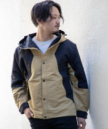 Nylaus/NYLAUS タスラン 斜め配色 切り替え マウンテンパーカー/502959690