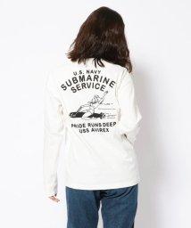 AVIREX/ロングスリーブティーシャツ サブマリン/T-SHIRT SUBMARINE/502959792
