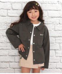 ANAP KIDS/バックプリントツイルシャツ/502959840