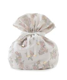 gelato pique/【ミュシャと四つの花】ローズ巾着/502961693