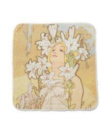 gelato pique/【ミュシャと四つの花】ハンドタオル/502961704