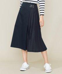 KUMIKYOKU(LARGE SIZE)/【Lサイズ仕様】C/Nyソフトタンブラー スカート/502961759