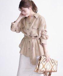 SHIPS WOMEN/リネンビッグシャツジャケット◇/502962139