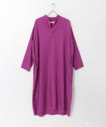 URBAN RESEARCH DOORS/unfil silk&cotton-twill shirt dress/502962454