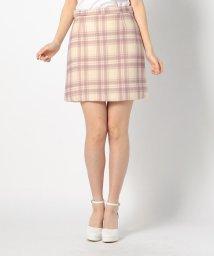 LODISPOTTO/チェックミニ台形スカート/502910321