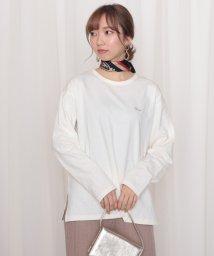 Cheek/Gluck胸刺繍ロンT/502920273