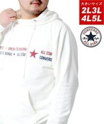 MARUKAWA/【CONVERSE】コンバース 大きいサイズ ロゴ 裏毛 アフガンネックパーカー 春/502927751
