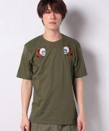 SISLEY/刺繍ワッペン半袖Tシャツ・カットソー/502941485