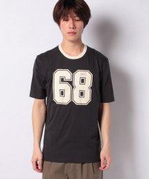 SISLEY/コットン型押しBOXフィット半袖Tシャツ・カットソー/502941487