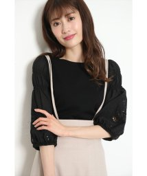 Rirandture/刺繍ボリューム袖ニット/502943767