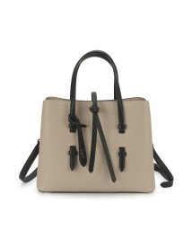 UNGRID bag/シンストリングフラップハンドバッグ/502957661
