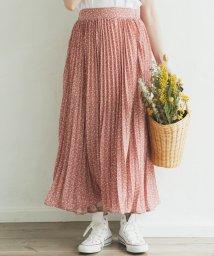 pairmanon/【ママサイズ】アコーディオン プリーツ ロング 花柄 スカート/502962264